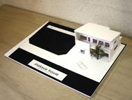浦山さんが設計されたお宅の模型