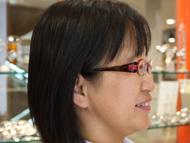 鈴木さんがしてらっしゃるメガネ