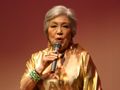足利出身のシャンソン歌手 阿部 美江さんのステージ