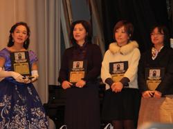 右から 鈴木さん、浦山さん、山岸さん、 浅野さん
