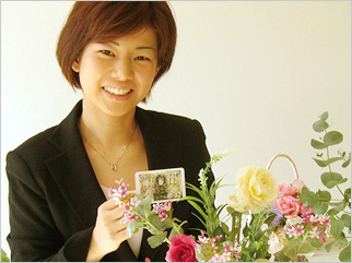 2008年3月 spellbound flower studioの美人さん